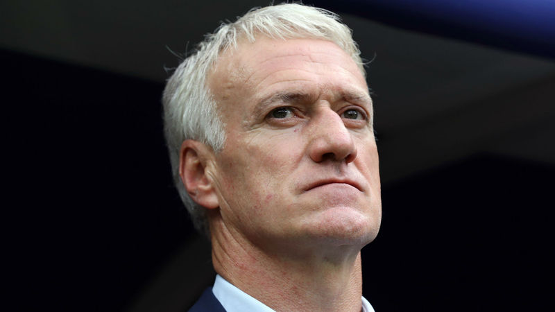 Deschamps pays tribute to France players after reaching personal milestone