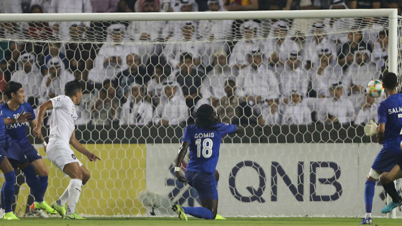 Al Sadd 1-4 Al-Hilal: Gomis on target at both ends as Xavi's side collapse