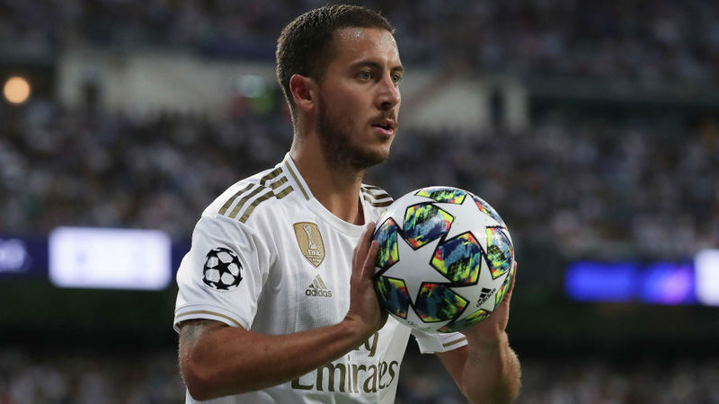 Zidane unconcerned by Hazard's wasteful performance for Madrid