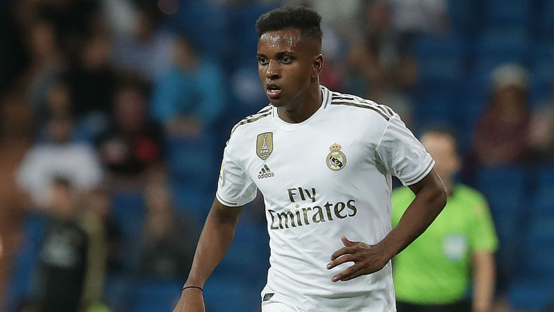 Real Madrid's Rodrygo living the dream after Champions League bow