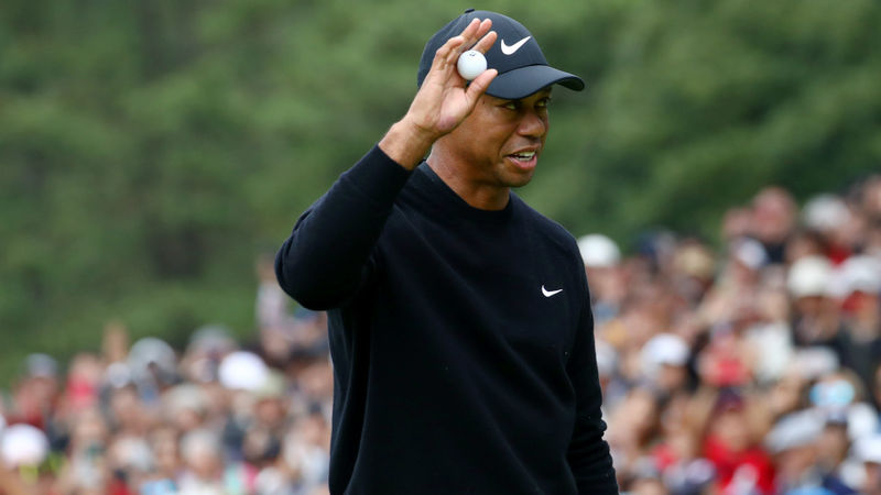 Tiger purrs as Woods earns share of Zozo lead with stunning 64