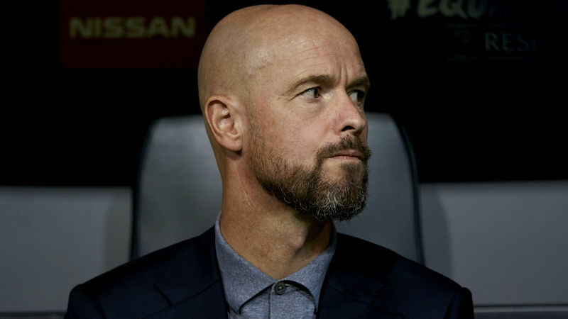 Overmars 'happy' with Ten Hag-Bayern links: It means he's doing well