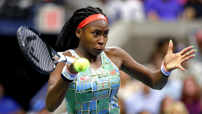 Gauff makes the most of second chance in Linz