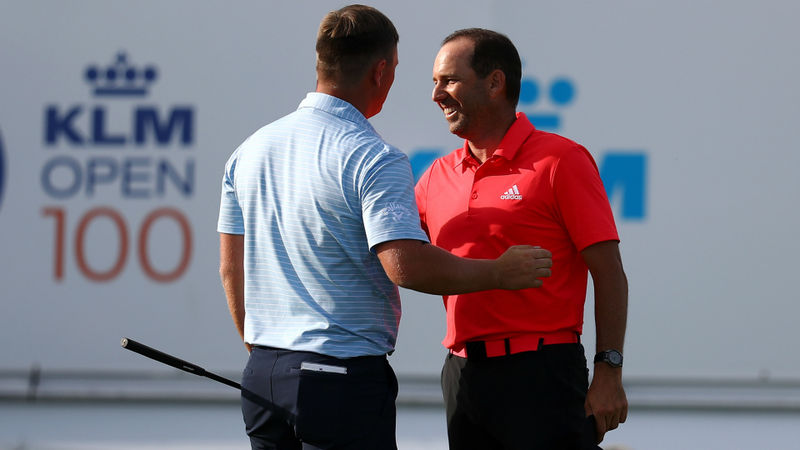 Garcia and Shinkwin share lead going into KLM Open final day