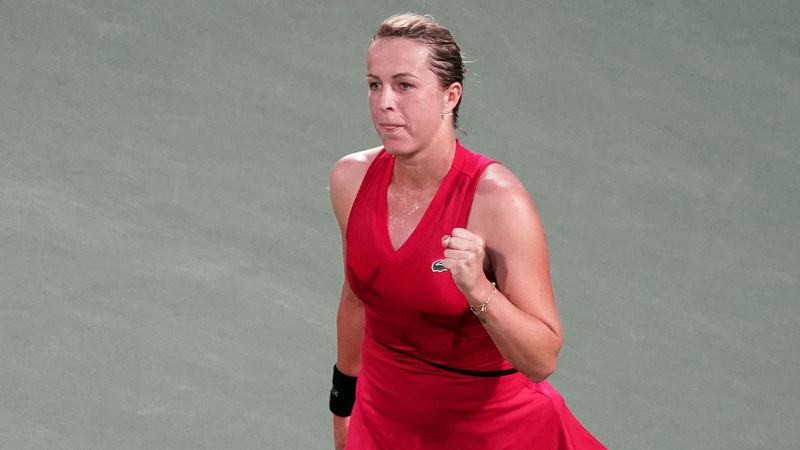 Pavlyuchenkova to meet familiar foe Bertens, Mertens cruises in Osaka