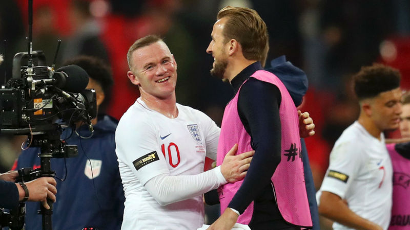 Rooney: I've never been a natural goalscorer and Kane will break my England record