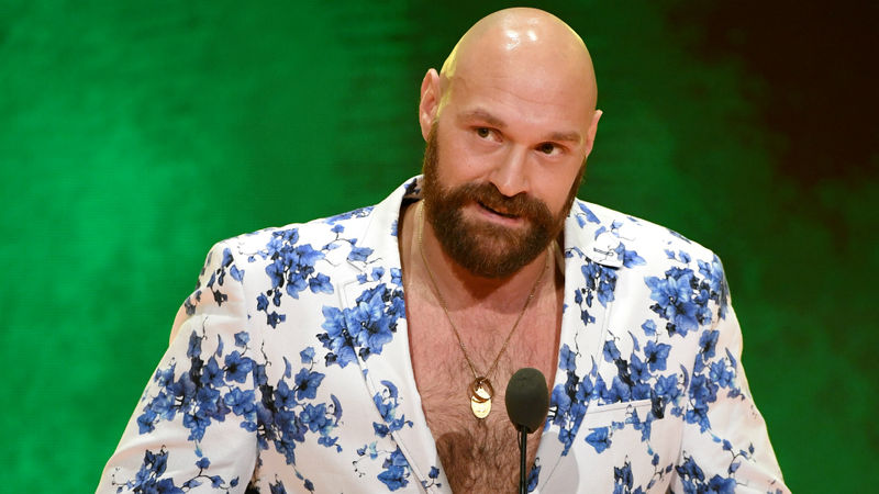 Tyson Fury accepts challenge from WWE champion Drew McIntyre, mocks beaten Brock Lesnar
