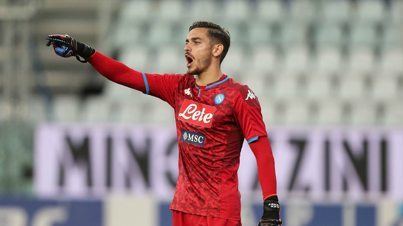 Man Utd-linked Meret will consider leaving Napoli on loan, says agent