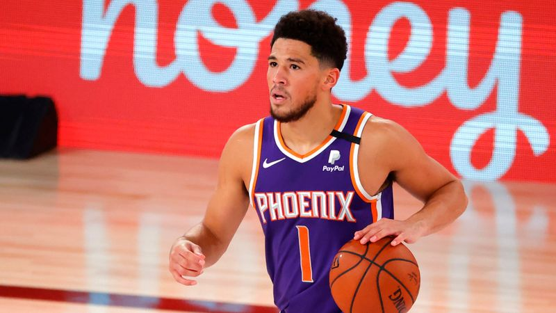 Devin Booker as 8-0 Suns wait on playoff fate: I'm a big Brooklyn Nets fan!