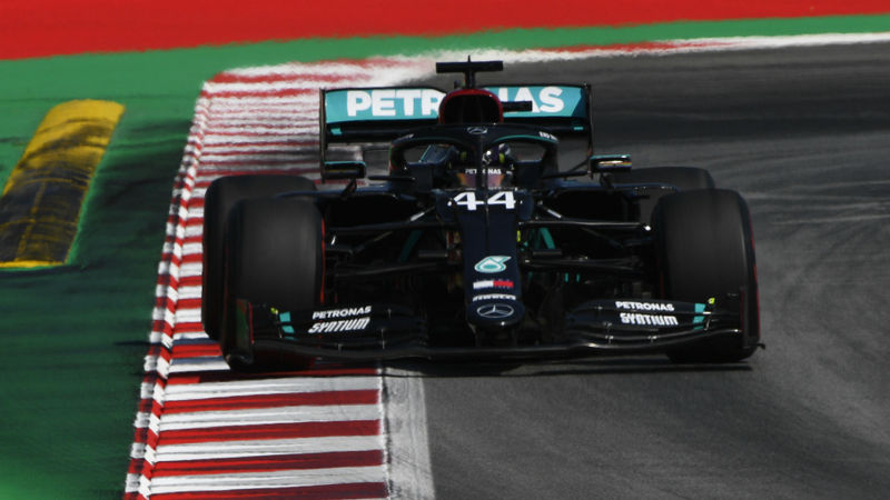 Hamilton fastest in FP2 as Mercedes dominate