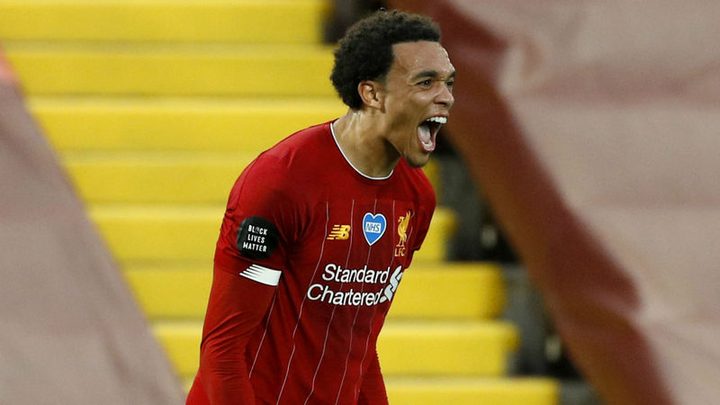 Alexander-Arnold beats Man Utd trio to Young Player of the Season award