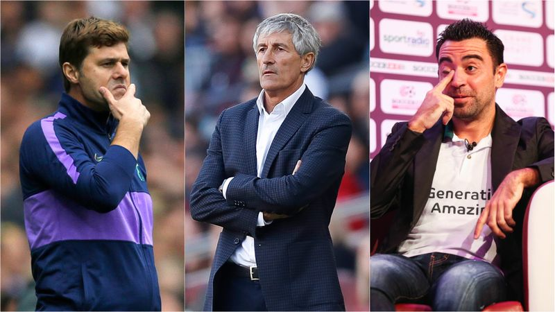 Who will replace Setien as Barcelona head coach?