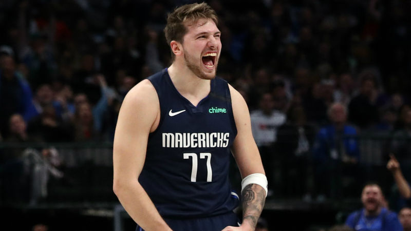 Clippers' Leonard, George impressed by history-making Doncic