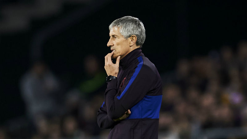 Barcelona sack Setien: More of the ball, fewer goals and leakier defence - Camp Nou reign in Opta numbers
