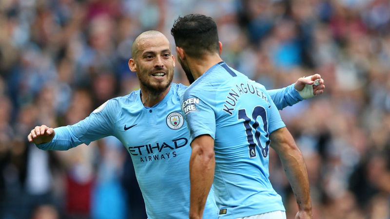 Aguero and De Bruyne pay tribute to departing Silva