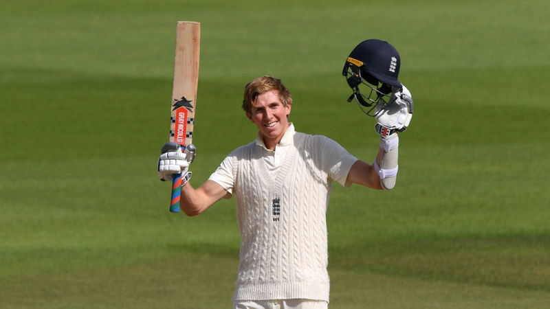 Crawley becomes youngest England batsman for 41 years to score Test double century