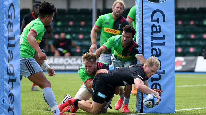 Saracens secure derby win over Quins, Saints and Bath boost top-four bid
