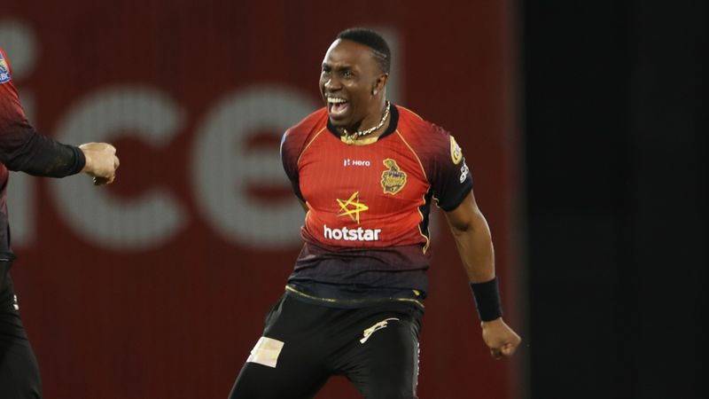 Dwayne Bravo claims 500th T20 wicket