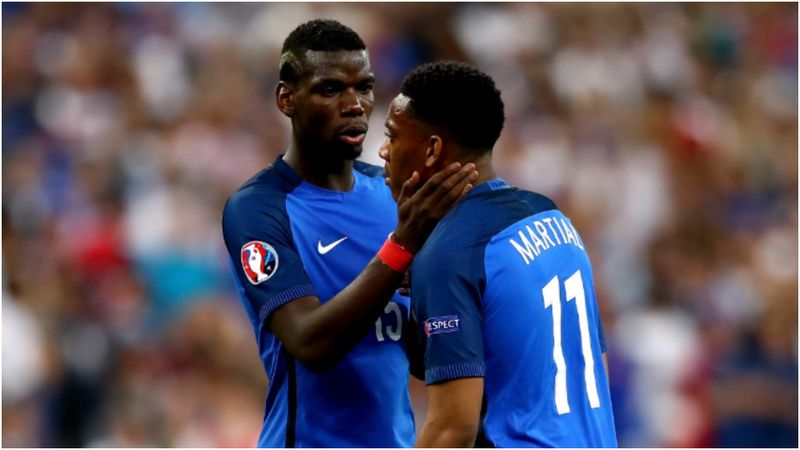 Pogba absent from France squad due to COVID-19 as Martial returns
