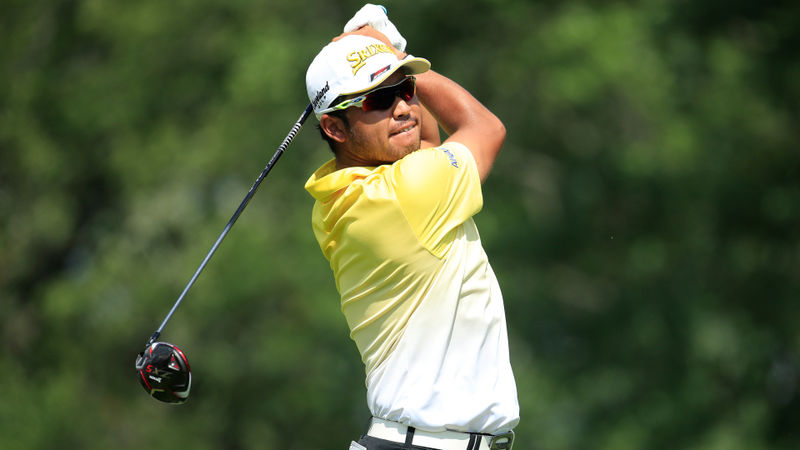 Matsuyama edges ahead in tough conditions at BMW Championship