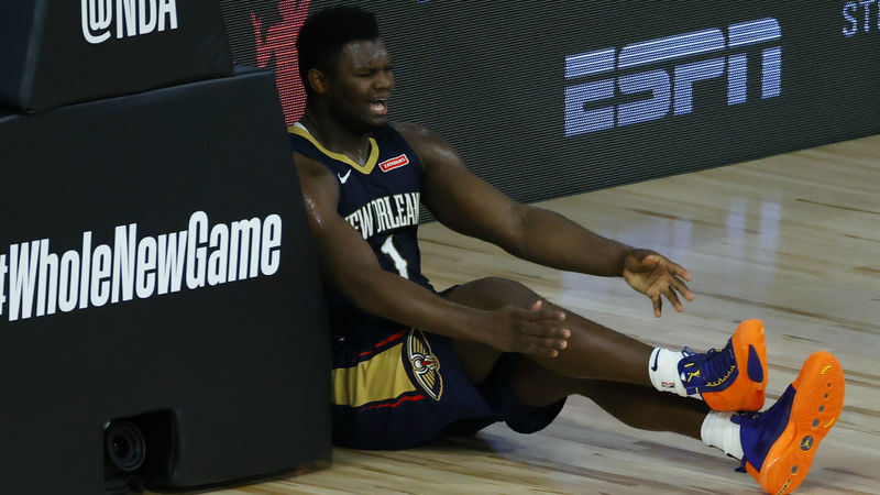 Zion Williamson frustrated with minutes restriction as Pelicans slide