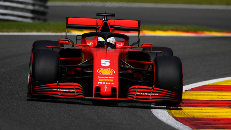 Vettel claims Q2 exit at Spa is no surprise for struggling Ferrari