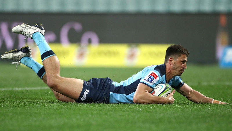 Waratahs 45-12 Reds: Gordon hat-trick helps clinch record win
