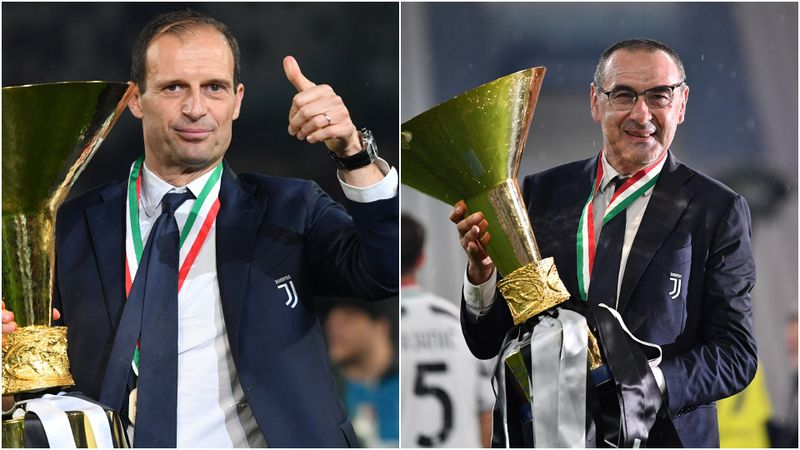 Juventus sack Sarri: How the Opta numbers compare to Allegri's 2018-19 title winners