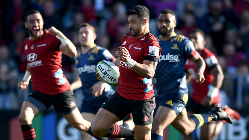 Crusaders 32-22 Highlanders: Reigning champions seal Super Rugby Aotearoa title