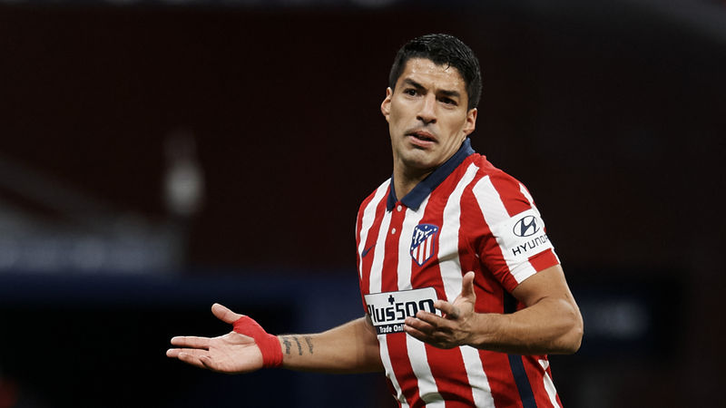 Suarez left out of Atletico Madrid squad for Bayern Munich match after positive coronavirus test