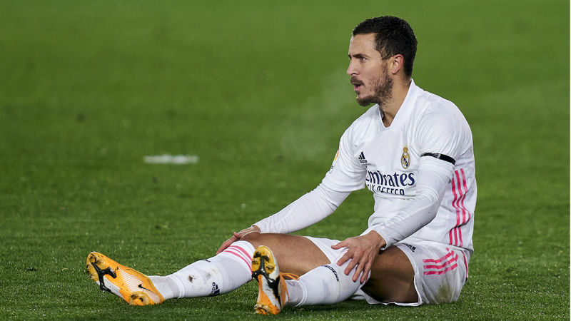 Hazard is having a hard time but Real Madrid will support him, says Zidane