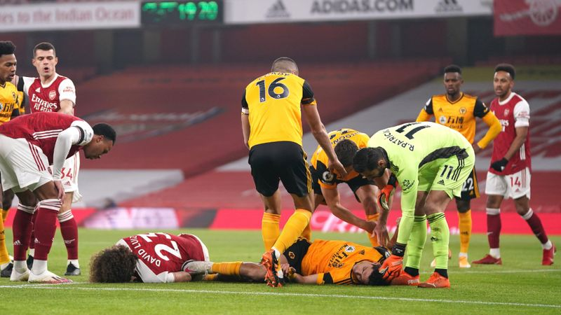 Jimenez hopes to return 'soon' from fractured skull as Wolves star provides update