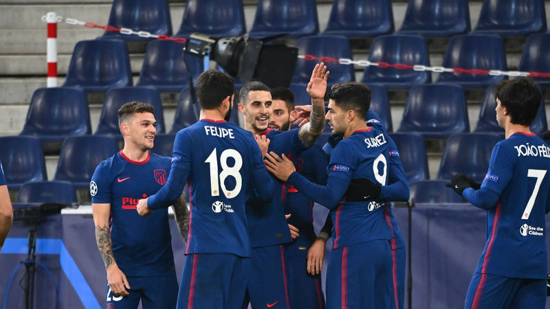 Salzburg 0-2 Atletico Madrid: Hermoso and Carrasco secure last-16 spot