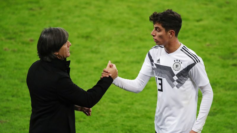 Havertz backing Germany boss Low despite Spain humiliation
