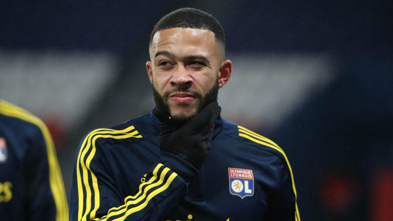 Depay 100-per-cent focused on Lyon amid Barcelona and PSG links