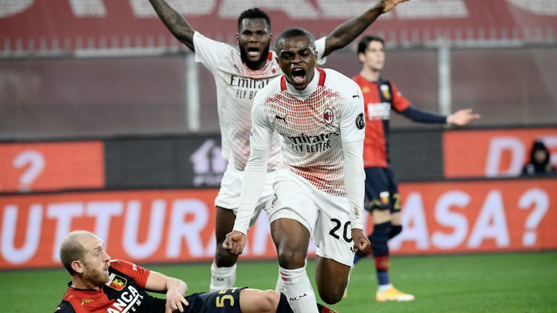 Genoa 2-2 Milan: Kalulu ensures Destro double in vain as Rossoneri fight back again