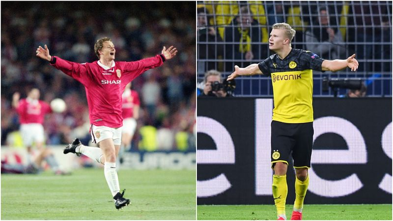 Solskjaer proud as Haaland closes in on his Champions League record