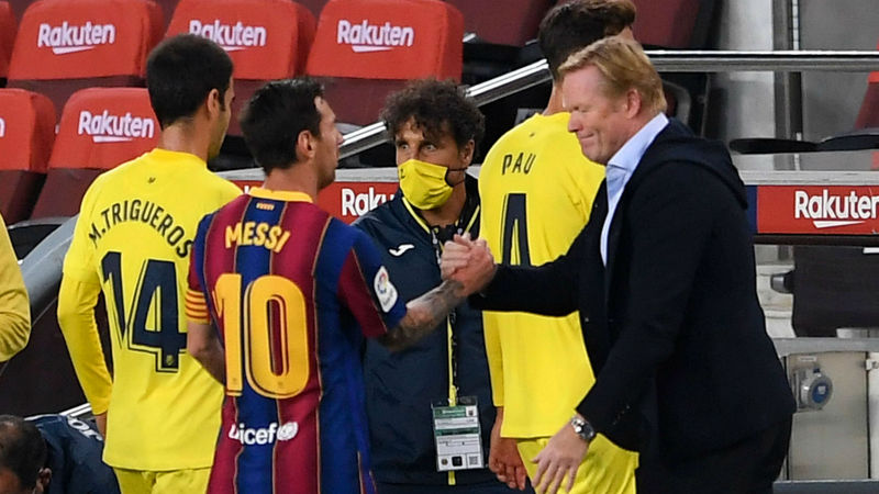 Messi's hunger and motivation has never been in doubt - Koeman
