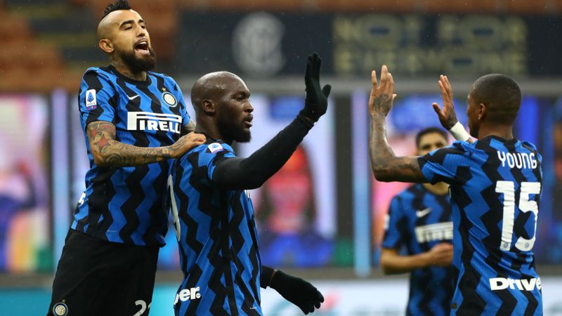 Inter 2-1 Spezia: Nerazzurri keep pressure on Milan with sixth successive win