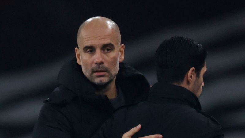 Guardiola defends 'incredible manager' Arteta after Man City swat Arsenal aside