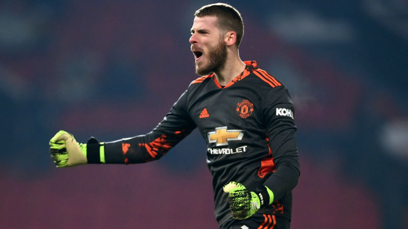 Man Utd's De Gea hails 'massive win' but dismisses title talk