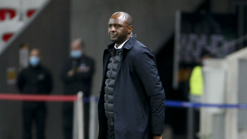 Patrick Vieira sacked by Nice after five-game losing run
