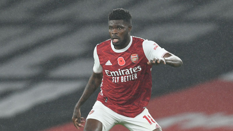 Arsenal's Partey to train ahead of north London derby against Spurs