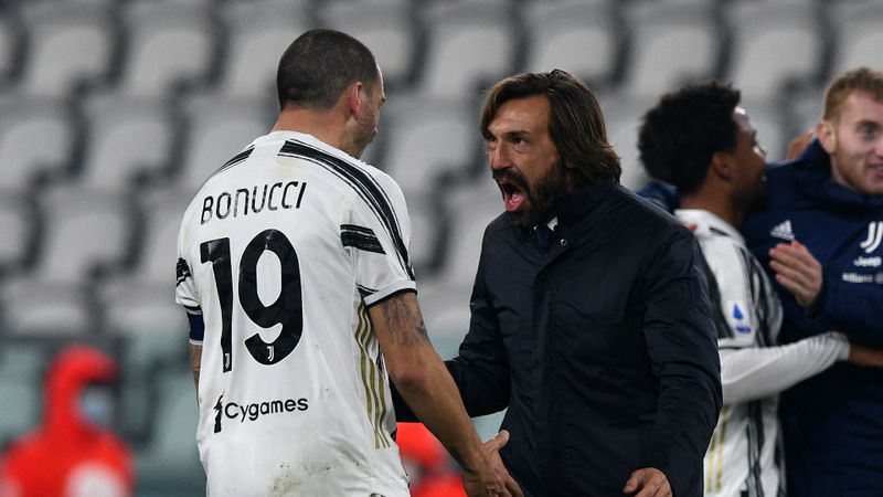 Juventus' heart and sacrifice told in the end – Pirlo hails fighting spirit in late comeback win