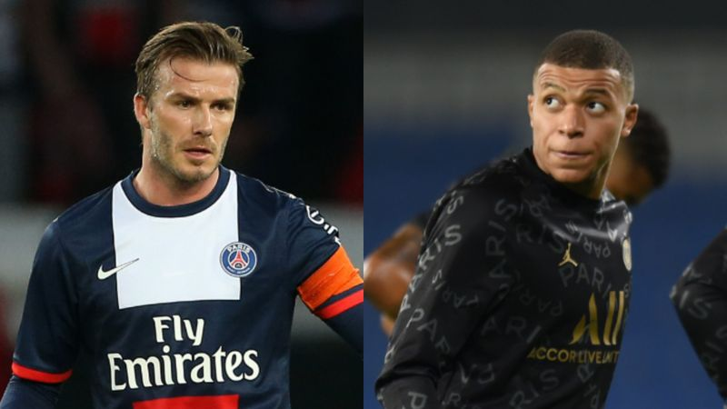 Beckham: Playing with Mbappe would have been a dream