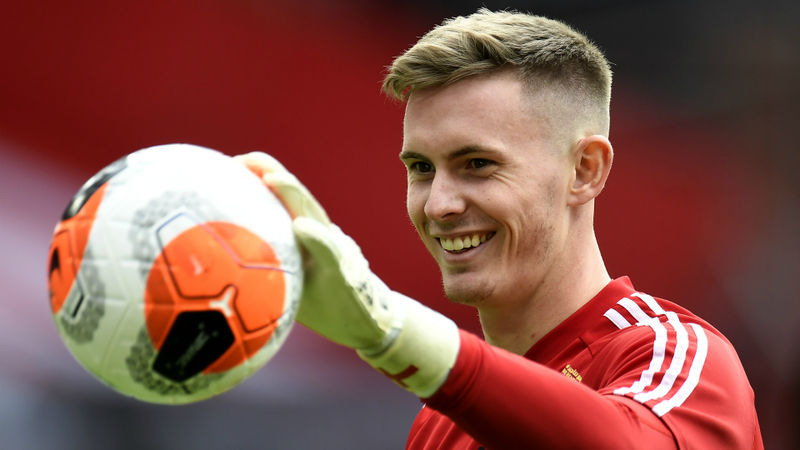 Henderson makes first Premier League start for Man United, Pogba and Van de Beek in