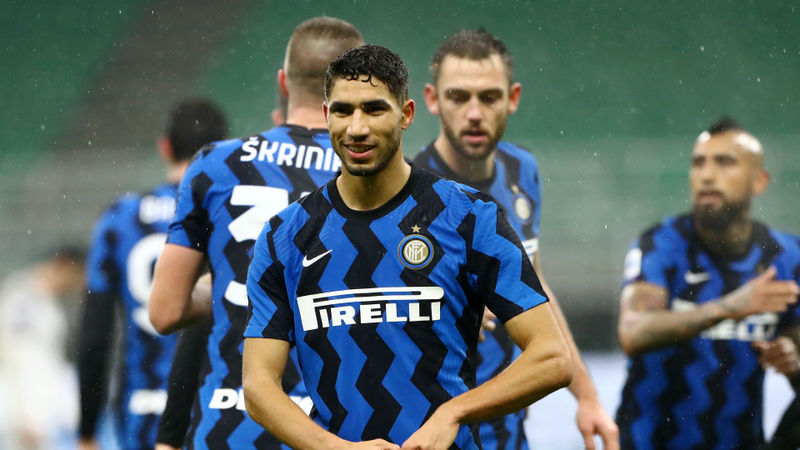 Inter 3-1 Bologna: Hakimi strikes twice to close the gap on Milan