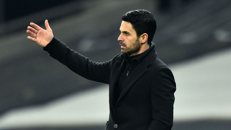 Arteta blames misfiring Arsenal stars for derby defeat