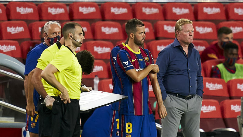 Barcelona midfielder Pjanic: I don't understand why Koeman doesn't use me more often