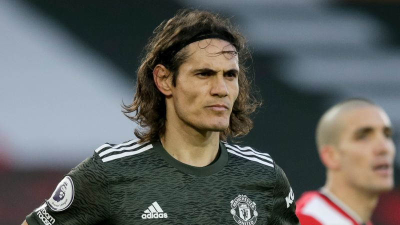 Cavani and Martial ruled out of key clash between Man Utd and RB Leipzig